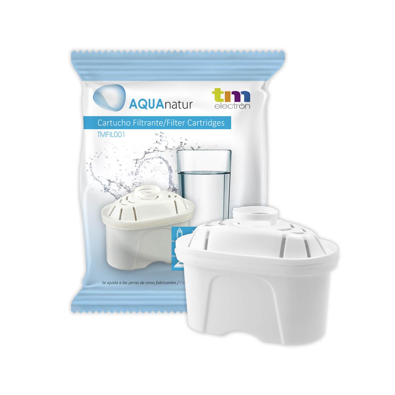 TMFIL001 cartucho filtro de agua compatible con jarras Brita(R) Maxtra(R)