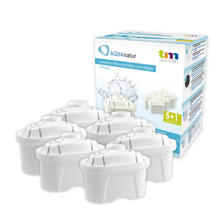 TMFIL006 cartucho filtro de agua compatible con jarras Brita(R) Maxtra(R)