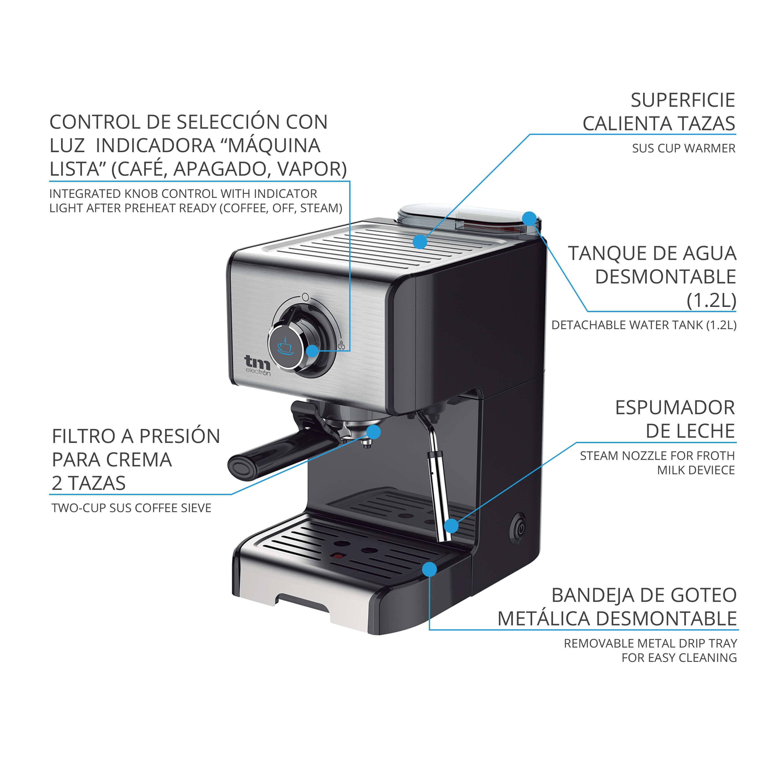 TMPCF101_cafetera_espresso_con_espumador_dos_tazas_alta_calidad_maximo_aroma_y_cremosidad